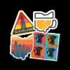 Ohio Pride Sticker - Where I'm Apparel